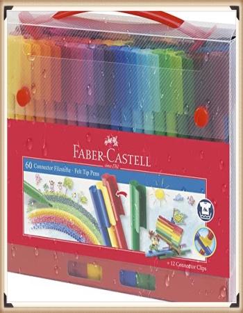 Faber-Castell Filzstift im Koffer