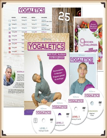 YOGALETICS Yoga Kurs